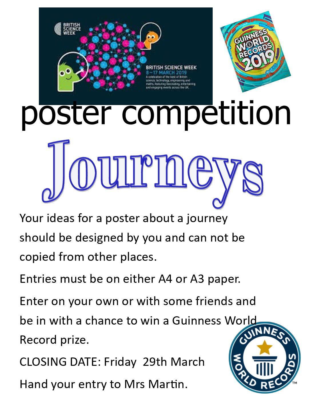 Poster Competition - British Science Week - Threemilestone